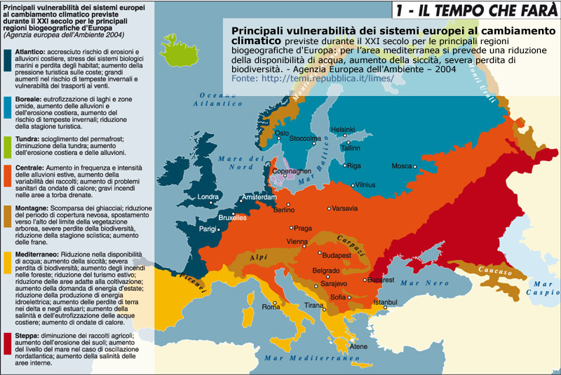 Bioclimatic Map of Europe, Thermoclimatic Bel